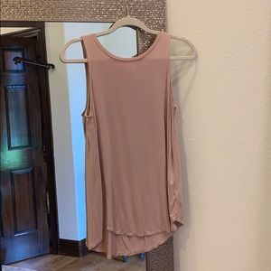 Old Navy Luxe Blush Babydoll Tank